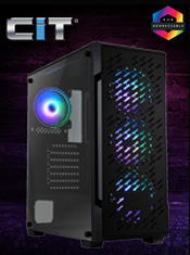 CiT Crossfire 4 x ARGB Fans - A serious bit of kit! In Stock Now @ A One
