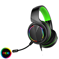 GameMax Razor RGB Gaming Headset and Mic with 5.1 Surround Sound - Click below for large images