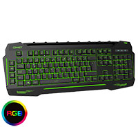 CiT Connect Keyboard 7 Colour LED Phone Rest and USB Hub - Click below for large images