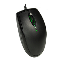 Scroller LED Optical Mouse Retail Box - Click below for large images