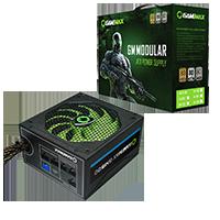 GameMax GM500 500W 80 Plus Bronze Semi-Modular Power Supply - Click below for large images