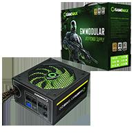 GameMax GM600 600W 80 Plus Bronze Semi-Modular Power Supply - Click below for large images