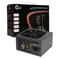 ACE 850w Black PSU 12cm Black Fan PFC - Click below for large images