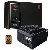 CiT 800W FX Pro 14cm Fan APFC 80 Plus - Click below for large images