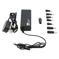 Powercool 90W 19V 4.74A Universal Laptop AC Adapter With 8 TIPS - Click below for large images