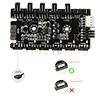 GameMax 3pin ARGB Sync Cable Hub To MB - Alternative image