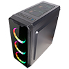 CiT Blaze Gaming Case With 6 x ARGB  Fans MB Sync Tempered Glass Side Window - Alternative image