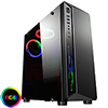 View more info on CiT Blitz RGB Mid-Tower Gaming Case With Full Acrylic Window ...