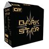 CiT Dark Star Black Mid-Tower Case 1 x 12cm Blue 4 LED Rear Fan With Side Window Panel - Alternative image