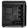 CiT F3 Black Micro-ATX Case With 2 x 12cm Rainbow Single-Ring Fans - Alternative image
