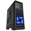 View more info on CiT Hero Mid-Tower Case with 1 x 12cm Front Blue LED Fan & 1 x USB3 with Side Window...