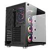 CiT Jupiter Glass Gaming Case 6x ARGB Fans Hub - Alternative image