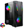 View more info on CiT Master Gaming Case 2x ARGB Fan TG Side Panel EPE...