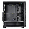 CiT Raider AIR Case 4 x Halo ARGB Fans Mesh Front Side Glass MB SYNC - Alternative image