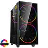 View more info on GameMax Black Hole ARGB Gaming Case 2x 20cm + 1x 12cm ARGB Fans 1x ARGB Hub...
