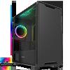 View more info on GameMax Commando MATX Black 1x Side Window 1 x ARGB Velocity Fan...