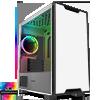 View more info on GameMax Commando MATX White 1x Side Window 1 x ARGB Velocity Fan...