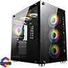 View more info on GameMax DS360 Glass Gaming Case 6x Infinity ARGB Fans Hub...