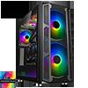 View more info on GameMax F15G Gaming Case 2x 20cm ARGB Fan 1x 12cm ARGB Fan TG Front+Side MB Sync...