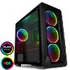 View more info on GameMax Kamikaze PRO ARGB 3pin Fans x4 TG Side Window Fan Control...