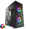 View more info on GameMax Sniper 2x ARGB 20cm Fans 1x 12cm ARGB Fan Hub TG Front and Side Window...