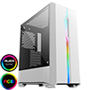 View more info on GameMax Solar White RGB Midi Tempered Glass Gaming Case MB SYNC 3pin...