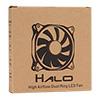 Unbranded Halo Dual Ring 22 LED 120mm Blue Fan - Alternative image