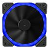 Unbranded Halo Dual Ring 18 LED 120mm Rainbow RGB Fan - Alternative image