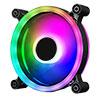 Raider Dual-Ring 16 LED 120mm Rainbow RGB Fan 5pin - Alternative image