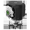 GameMax Gamma 600 Rainbow ARGB CPU Cooler Aura Sync 3 Pin - Alternative image