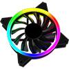 GameMax ARGB Fan Hub + Strip kit 3 x Velocity Fans 1x Viper Strip 1x Hub - Alternative image