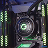 GameMax Iceberg 240mm Water Cooling System with 7 Colour PWM Fans - Alternative image