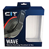 CiT Wave Stereo Wired Headphone and Mic - Alternative image
