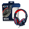 View more info on CiT Wave Stereo Wired Headphone and Mic...