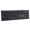 Builder French USB Keyboard & Mouse Combo Set Black  - Alternative image