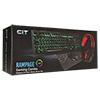 CiT Rampage Keyboard Mouse & Headset Combo - Alternative image