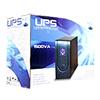 Powercool Smart UPS 1500VA 3 x UK Plug 3 x IEC RJ45 x 2 USB LCD Display - Alternative image