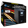 Powercool Smart UPS 2000VA 2 x UK Plug 3 x IEC RJ45 x 2 USB LCD Display - Alternative image