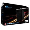 Powercool Smart UPS  650VA 2 x UK Plug RJ45 x 2 USB LED Display - Alternative image