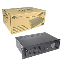 Powercool Rack-Mount Off-Line UPS 1500VA Input/Output: 230V 50Hz with 2x8Ah - Click below for large images