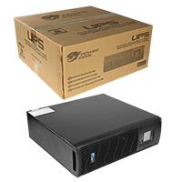 Powercool Rack-Mount line interactive UPS 2000VA 1600W 2xUK+3xIEC - Click below for large images
